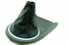 For 03-08 Hyundai Tiburon Manual Leather Shift Boot Black