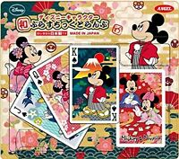 plastic playing cards Disney characters playing cards F/S w/Tracking# Japan New