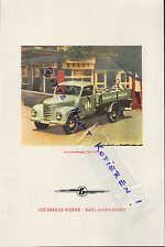 KARL-MARX-STADT, Werbung 1958, VEB Barkas-Werke Kleinlastkraftwagen Typ V 901/2