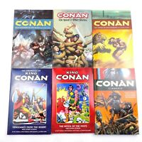 Conan Graphic Novel Lot Of 6 Books Dark Horse Comics