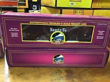 MTH Santa Fe Wood Chip Hopper w/load 20-97503,new,train