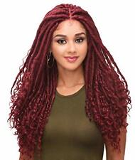 "Destiny-LACE WIG-BOHO LOCS 24"" (4?x 4"" Lace Wig) with Baby Hair for Black Woman"