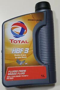 Liquido freni DOT3 TOTAL HBF3 1litro