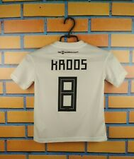 Kroos Germany soccer jersey kids 7-8 years 2019 home shirt Bq8460 Adidas