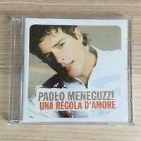 Paolo Meneguzzi - Una Regola d'Amore - CD Single PROMO - 2004 Ricordi - RARO!!