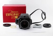 Zenza Bronica S2A Black Late Model 6x6 w/Nikkor-P 75mm f/2.8 from japan #286160