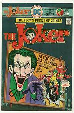 Joker 1975 #3 Fine/Very Fine Batman