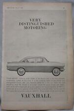 1962 Vauxhall Cresta Original advert No.1
