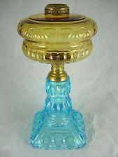 VINTAGE  ADAMS  MOON  AND  STAR  OIL  LAMP  BASE   ( BEAUTIFUL )