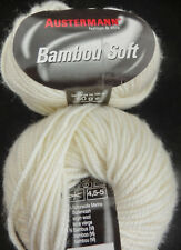 (75 €/ kg): 500 g Austermann BAMBOU SOFT, natur 010 #2730