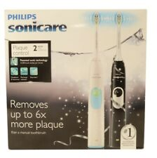 TWO IN PACKAGE Phillips Sonicare 2 Series Sonic  Rechargeable Toothbrush HX6212