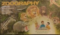 ZOOGRAPHY - VINTAGE, 1972, AMWAY BOARD GAME -Scarce- Moderate shelf wear SEALED