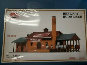 Vintage Model Power Budweiser Brewery no. 451 HO Scale Building Kit - Sealed