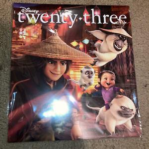 Disney D23 Twenty Three Spring 2021 Magazine Raya and the Last Dragon NEW NM