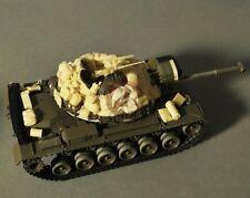 Verlinden 1/35 M48 Patton Tank Sandbag Armor & Stowage in Vietnam (Tamiya) 2565