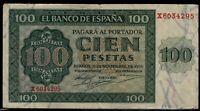 Billete de España 100 pesetas 1936 Burgos X6034295