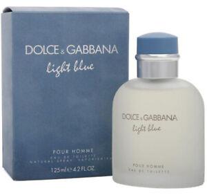 LIGHT BLUE POUR HOMME by Dolce & Gabbana 125ml EDT BNIB