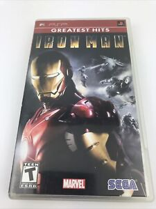 Iron Man (Sony PSP, 2008) COMPLETE TESTED