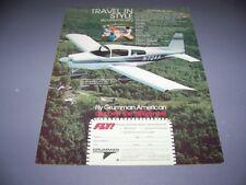 VINTAGE..1974 AMERICAN TRAVELER ..1-PAGE COLOR SALES AD...RARE! (681N)