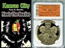 Beatles 64 Kansas City Concert Book Beatlemania with Mini Yellow Ticket Display