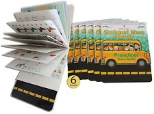 Preschool Basic Skills Dry Erase Reusable Wipe Off Book - Wholesale set of 6