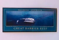 Great Barrier Reef Magnetic Australia Souvenir Magnet Vintage (R11)