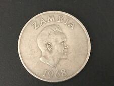 1968 Zambia 20 Twenty Ngwee Coin
