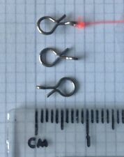 20 x Fly Hook Clips / Fly Quick Change Clips (Small 8.2mm long)