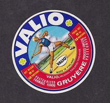 Ancienne  étiquette Fromage Finlande  BN12529 Sport Javelot 4