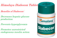 Himalaya Herbal Diabecon Anti diabetic Natural Care 60 Tablets