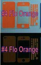 iPhone 4S * Matte * Glow in the Dark Full Body Skin sticker  ( Stronger Glow )