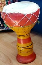 More details for vintage original clay darbuka dohola doumbek drums