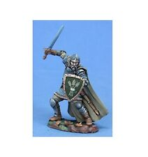Dark Sword Veteran Hedge Knight with Long Sword & Shield miniature metal new