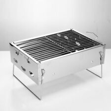 BBQ Grill Bakery Outdoor Charcoal Tool Carbon Foldable Barbecue Stove Steel Rack