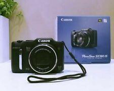 Canon PowerShot SX160 IS 16.0MP Camera Black UPC 0013803157215