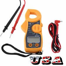 Digital Voltmeter Ammeter Ohmmeter Multimeter Volt Ac Dc Tester Meter Tester Us