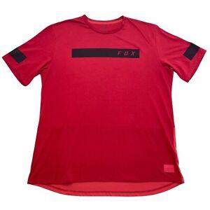 Fox Racing Men's XXL Ranger MTB Jersey Mountain Bike Shirt Red