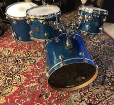 2009 DW Collector's Series JAZZ  4 Piece Drum Kit  Blue Glass Finish