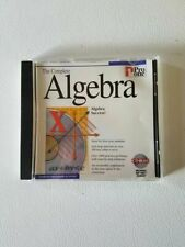 The Complete Algebra Cd Rom Teaching Tool Home School PC Computer Aid Guide