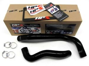 HPS Black 3-Ply Silicone Radiator Hose Kit for Ford 99-01 F550 Super Duty 7.3L