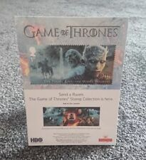 PROMOTIONAL STAND FOR GAME OF THRONES STAMPS