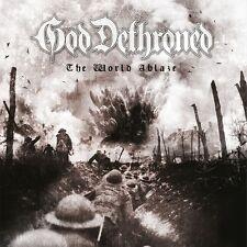 GOD DETHRONED - THE WORLD'S ABLAZE  2 CD NEW+