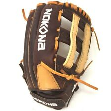 S-V1250H-RightHandThrow Nokona Select Plus S-V1250H Softball Glove Fastpitch 12.