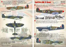 Stampare Scala 1/48 Spitfire Mk. V Aces parte 1 # 48122