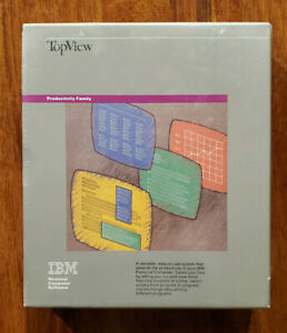IBM TopView Software. Productivity Family. Shrink Wrapped 6024131