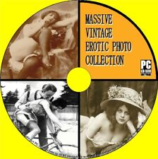 Massive Vintage Erotic Photographic Images Collection Racey Saucy Photos Pc-cd