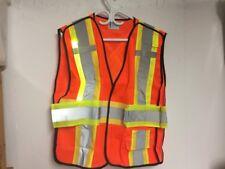 Fiber Optic Light Jacket Orange Hi-Viz CSA Approved