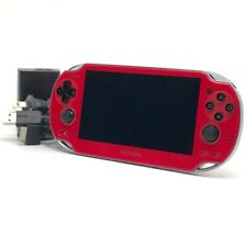 """SONY PS Vita PCH-1000 Cosmic Red Wi-Fi OLED w/ Charger """"Near Mint"""""""