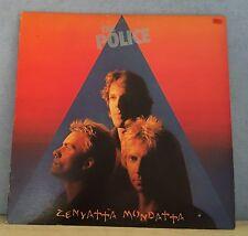 THE POLICE Zenyatta Mondatta 1980 UK vinyl  LP + INNER EXCELLENT CONDITION    Z