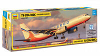 1//144 Zvezda Tu-204-100 Airliner RED WINGS 7023